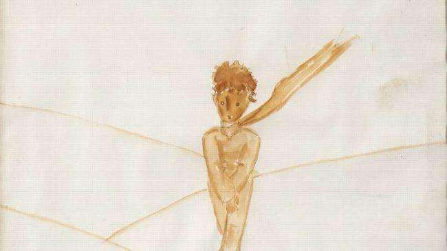 40 millió forintért kelt el A kis herceg eredeti akvarellje