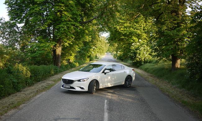 Mazda 6 limusine, 192 lóerővel - teszt