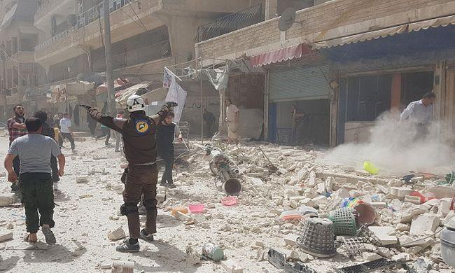 Gyerekeket ölt meg az orosz bombázás Szíriában