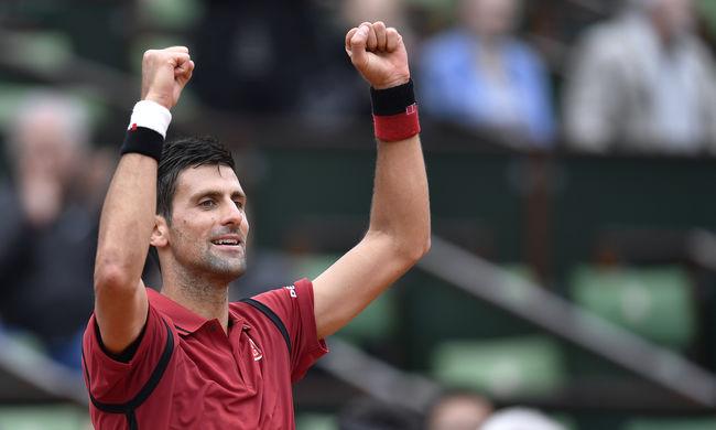Sporttörténelmet írt a szerb teniszező Párizsban