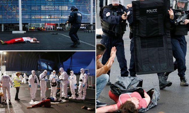 Terrorelhárítók gyakorlatoztak ott, ahol a magyarok is játszanak majd