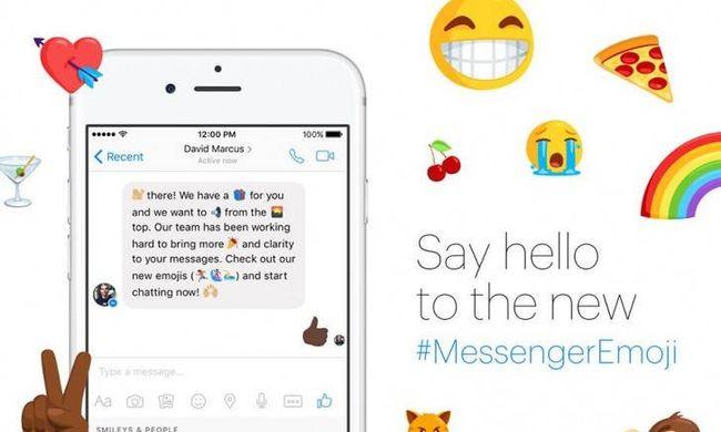 Frissítsen, 100 új hangulatjel várja a Messengerben