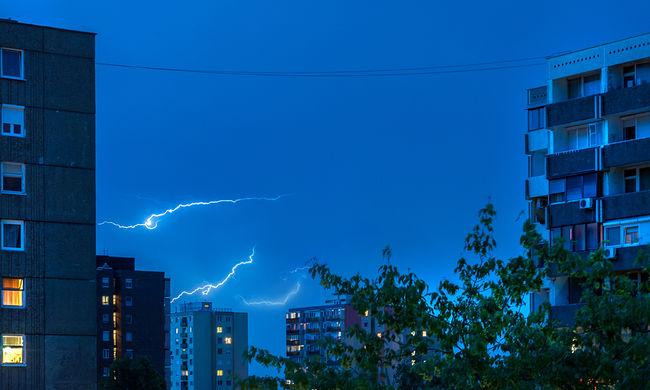 Budapesten is pusztít a vihar