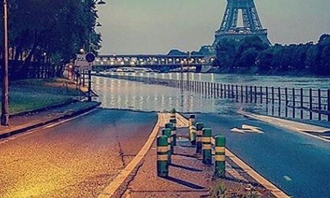 Katasztrófahelyzet van Párizsban az áradások miatt - videó