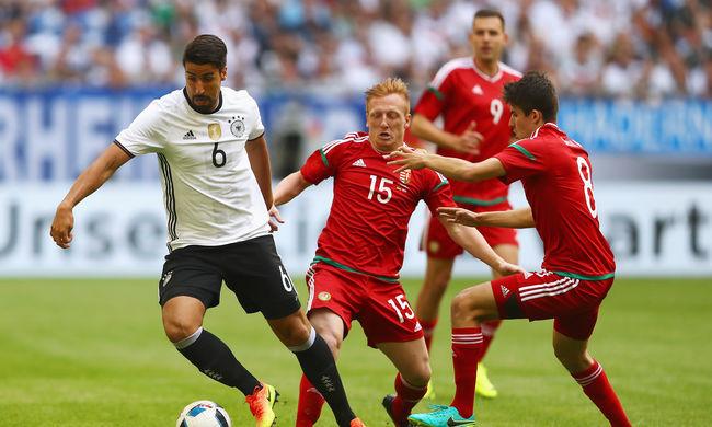 Két góllal kapott ki Magyarország a németektől - videó
