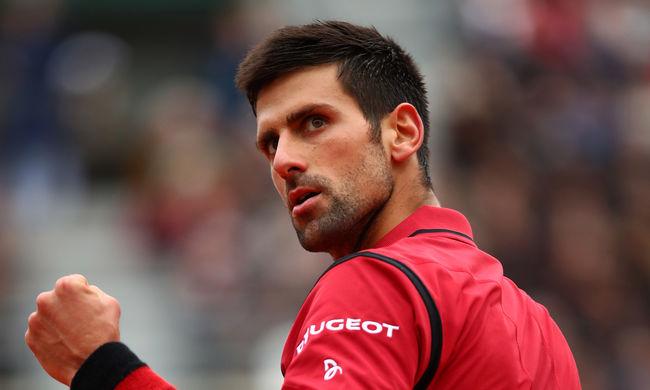 Djokovics nyert és történelmet írt a Roland Garroson