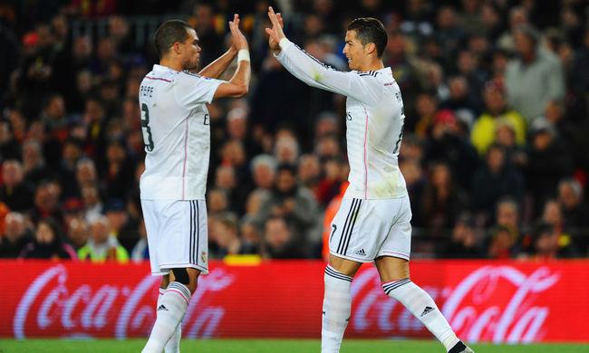 Cristiano Ronaldo és Pepe színésznek is jó lenne az izlandi kapitány szerint