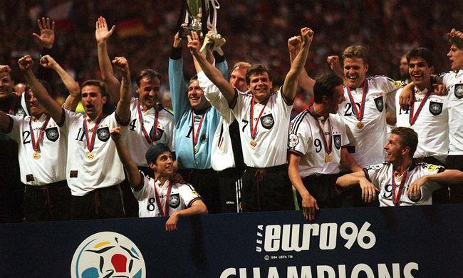 EURO 2016 sorozat: Aranygól döntött a németek javára - 10. rész (1996)