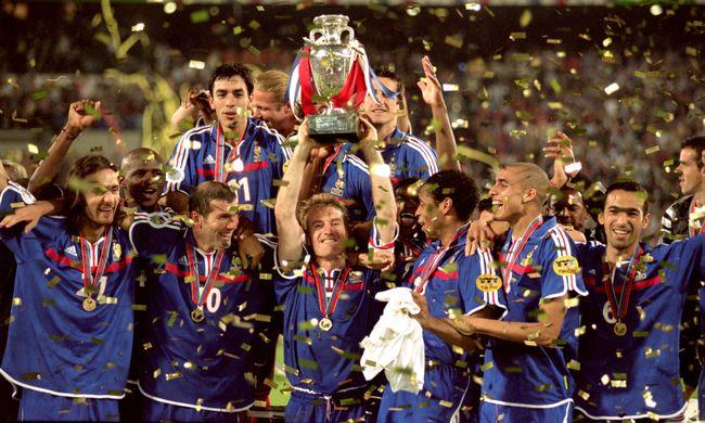 EURO 2016: Minden idők egyik legjobb tornáján történelmet írtak Zidane-ék - 11. rész (2000)
