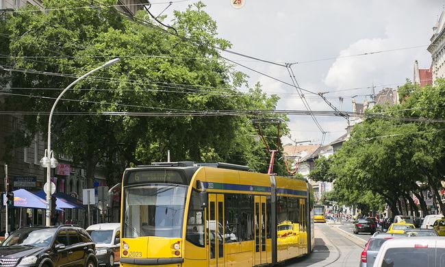 Tömegkatasztrófa felé rohant a budapesti villamos