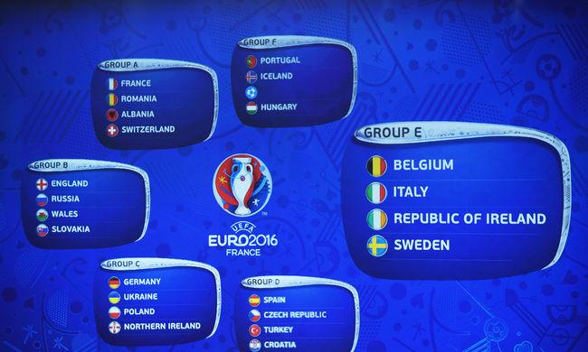 EURO 2016 - Az E-csoport bemutatása