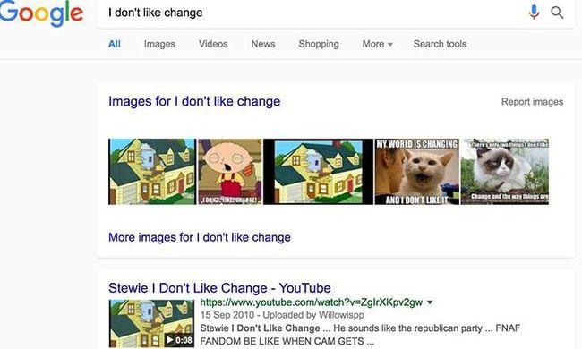 Egyszerűbbé válik a Google keresőfelülete