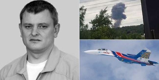 Lezuhant egy műrepülő Szu-27-es, a pilóta meghalt - videó