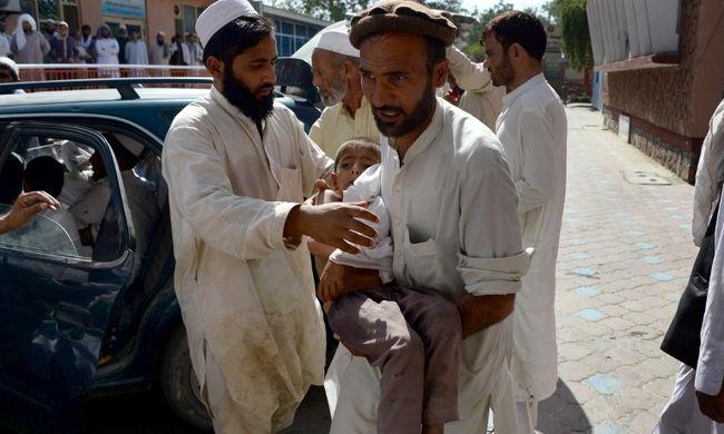 Pénteki imádság közben robbant pokolgép egy afganisztáni mecsetben