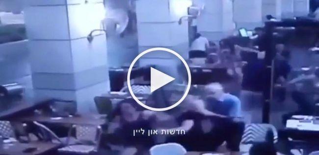 Megrázó! Videó készült a tel-avivi terrortámadásról!