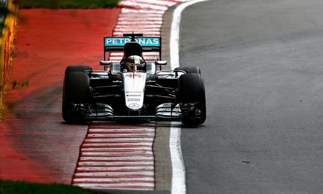 Hamilton nyerte a Kanadai Nagydíj időmérő edzését