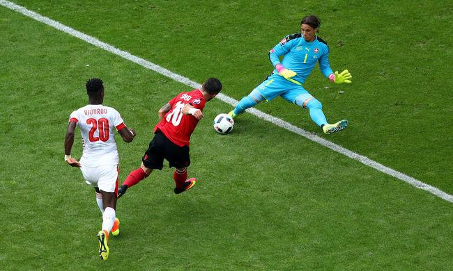 Albánia elveszítette története első Eb-meccsét