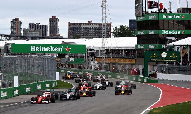 Szenzációsan rajtolt Vettel, de nem tudta megnyerni a Kanadai Nagydíjat