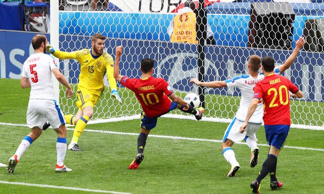 Győzelemmel kezdte az Eb-t a címvédő spanyol válogatott