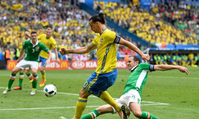 Döntetlen született Írország és Svédország meccsén - videó