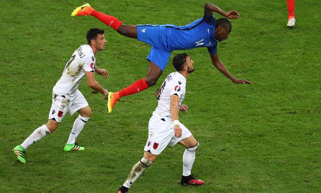 Felőrölte ellenfelét Franciaország, és ott van a legjobb 16 között