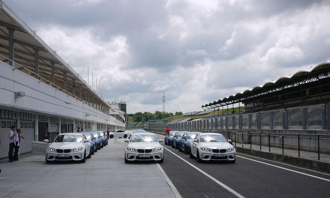 A Hungaroringen mutatták be az új BMW M2 Coupét
