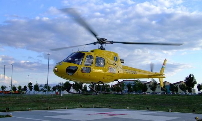 Két helikoptert kapott a honvédség a légimentőktől
