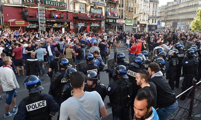 Az Eb első napja óta 196 embert vettek őrizetbe a rendőrök