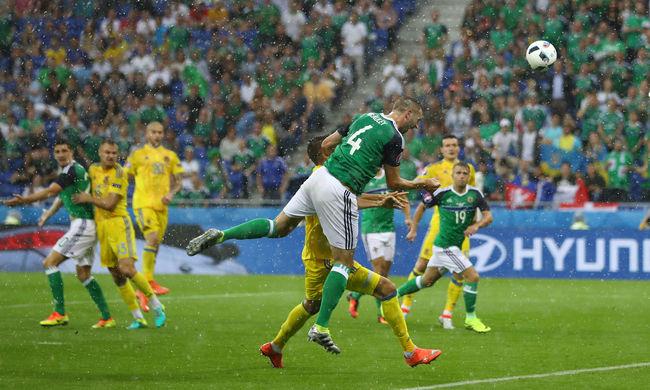 Történelmi gól és siker: az északírek legyőzték Ukrajnát!
