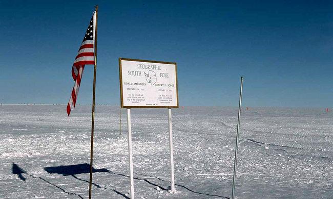 Küszöbérték feletti légköri szén-dioxid-koncentrációt mértek a Déli-sarkon