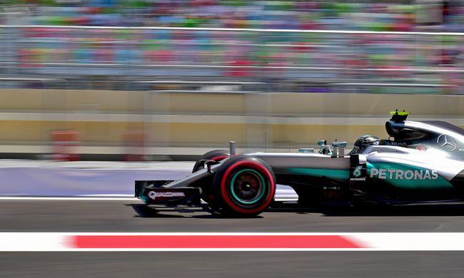 Rosberg nyerte az őrült bakui időmérő edzést