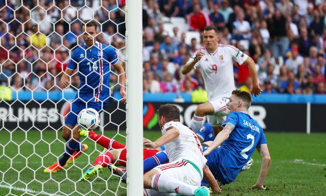 Döntetlen Izland ellen, szinte biztos a továbbjutás