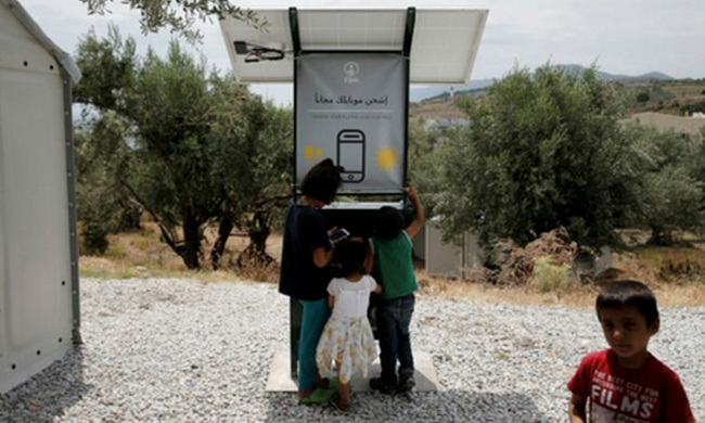Így segítik a migránsokat, hogy tarthassák a kapcsolatot rokonaikkal