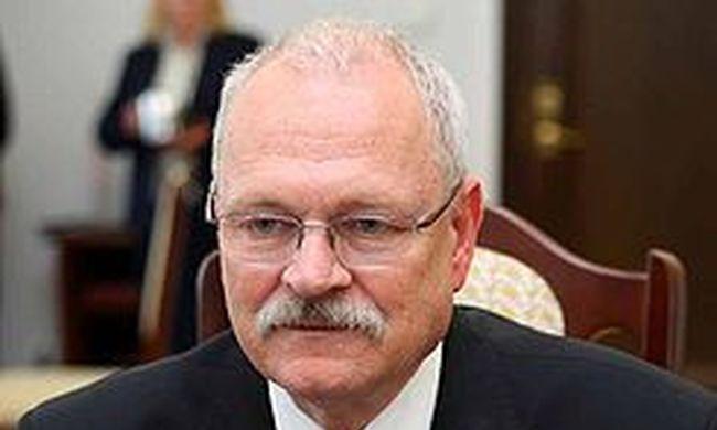 Balesetet szenvedett az első szlovák elnök