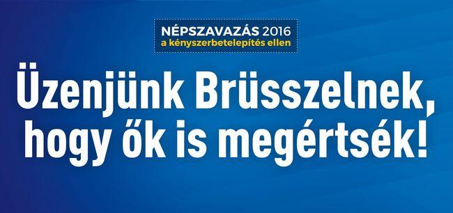 """""""Nem Brüsszel, hanem csak a magyarok dönthetnek arról, kivel akarnak együtt élni"""""""