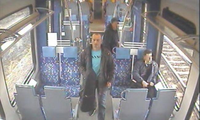 Így lopta el a 200 éves hegedűt a vonatról a férfi, minden mozzanatát rögzítette a kamera