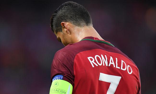 Elég ideges Ronaldo a magyar meccs előtt - videó