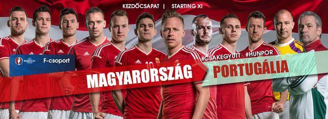 Megvan a magyar kezdőcsapat Portugália ellen!