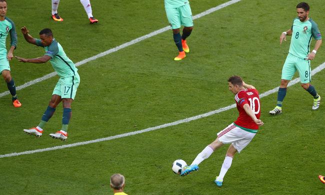 Csoportelső lett Magyarország a torna legjobb meccse után, Magyarország-Portugália 3-3 - videó