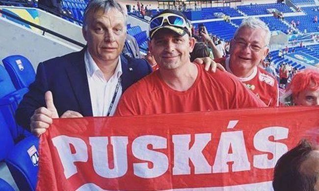 Így örült Orbán Viktor a meccs után