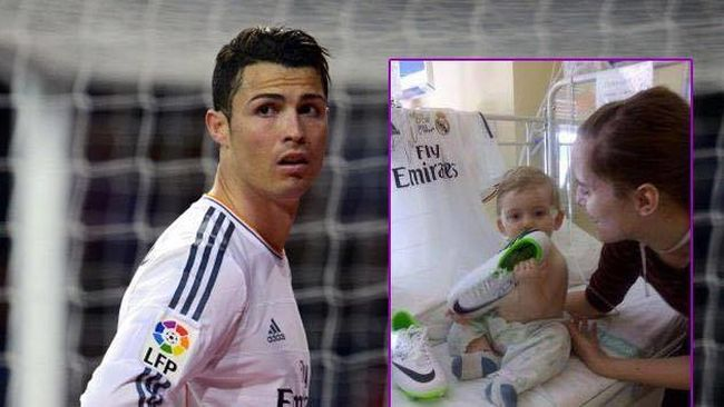 Tiszteletet Cristiano Ronaldonak!