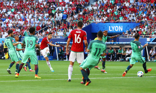 Újabb magyar siker a foci Eb-n, Geráé lett a csoportkör legszebb gólja