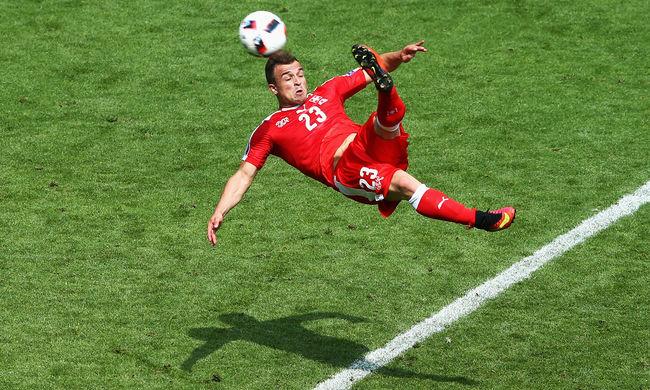 Shaqiri csodagólja ellenére a lengyelek lesznek ott az Eb negyeddöntőjében