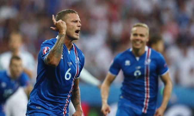 Izland kiverte Angliát, itt a torna meglepetése - videó