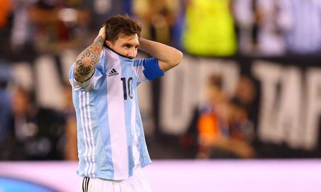 Folytatódik az argentin átok, Messi lemondja a válogatottságot - videó