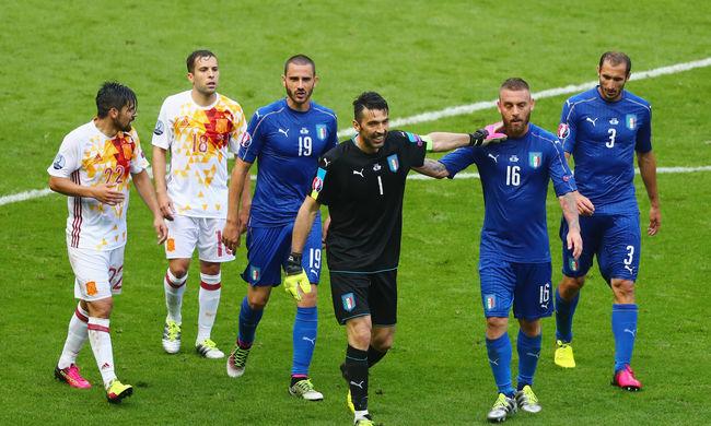 Kiesett a címvédő, német-olasz negyeddöntő lesz