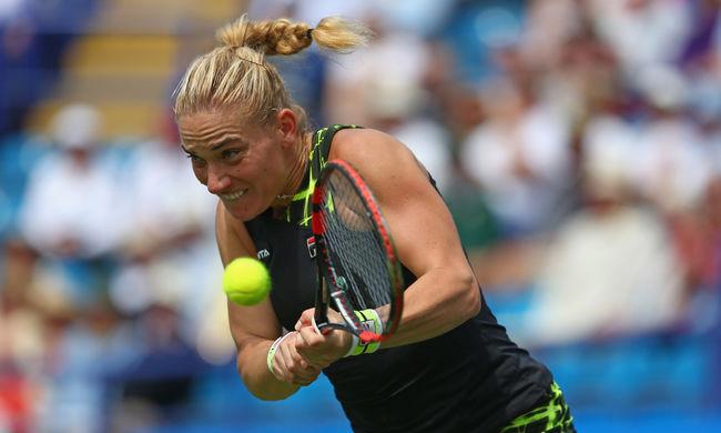 Brit versenyzőt győzött le Wimledonban a legjobb magyar teniszezőnő
