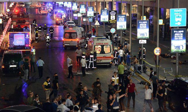 Így robbantotta fel magát a terrorista Isztambulban - videó