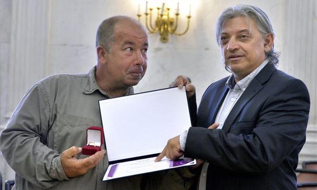 Szőke András kapta a Rádiókabaré legrangosabb díját