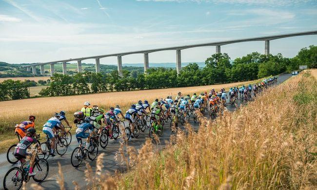 Ez durva volt: tömeges bukás a Tour de Hongrie-n